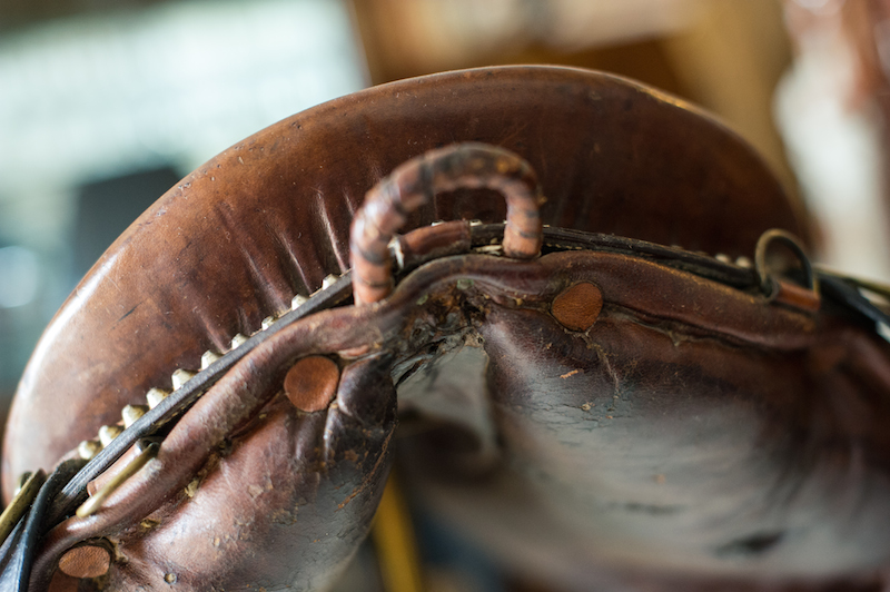 vintage portuguese saddle
