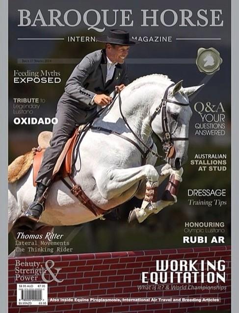 Oxidado cover of Baroque Magazine