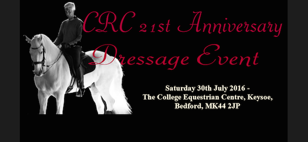 CRC Dressage event with Sylvia Loch