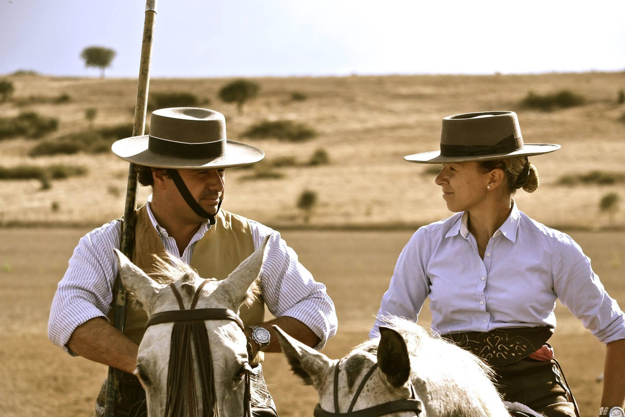 Maria Caetano and her husband
